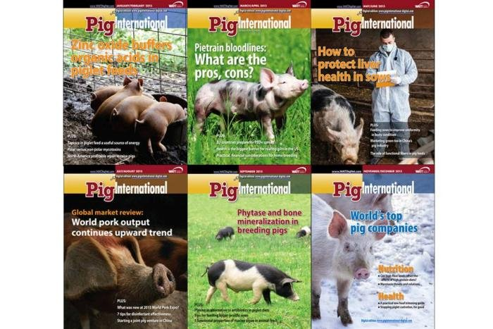 Top 6 stories from 2015 Pig International