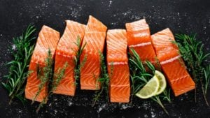 Fillets from salmon fed insect meal contain more omega-3
